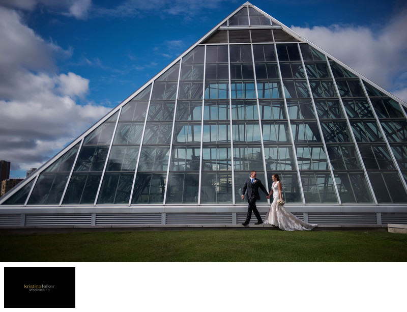Muttart Conservatory Wedding Photography