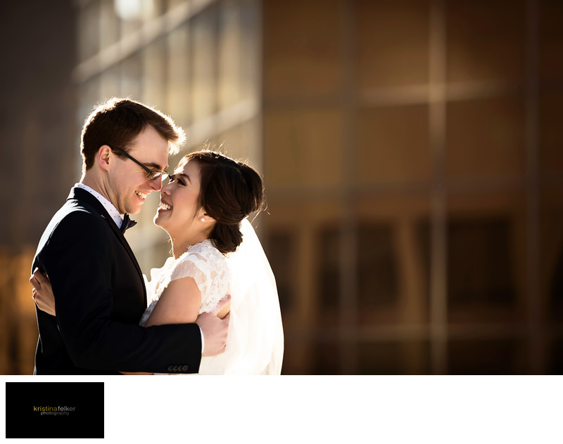 Downtown Edmonton Wedding Photography