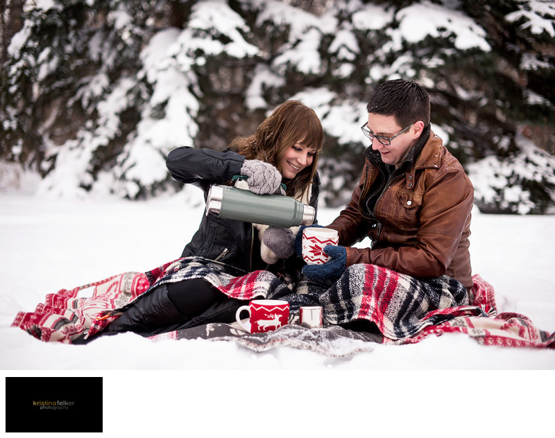 Winter Engagements Edmonton