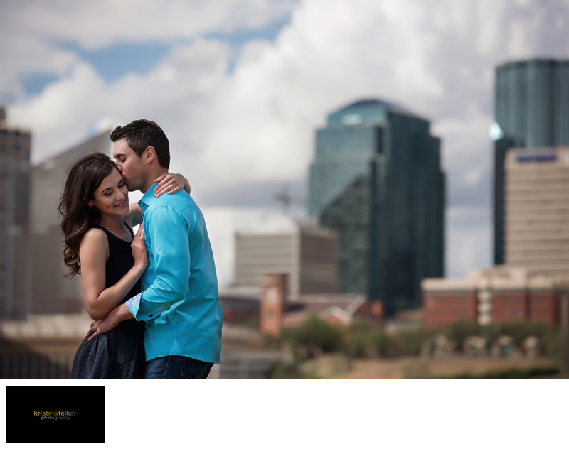 Edmonton Downtown Engagement Photos