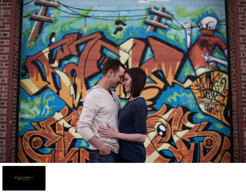 Whyte Avene Edmonton Engagement Photography