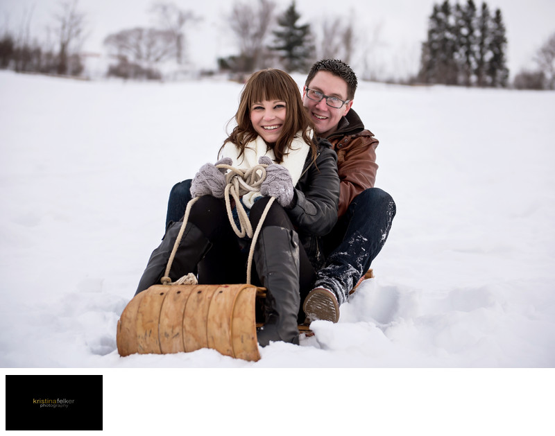 Edmonton Winter Engagements