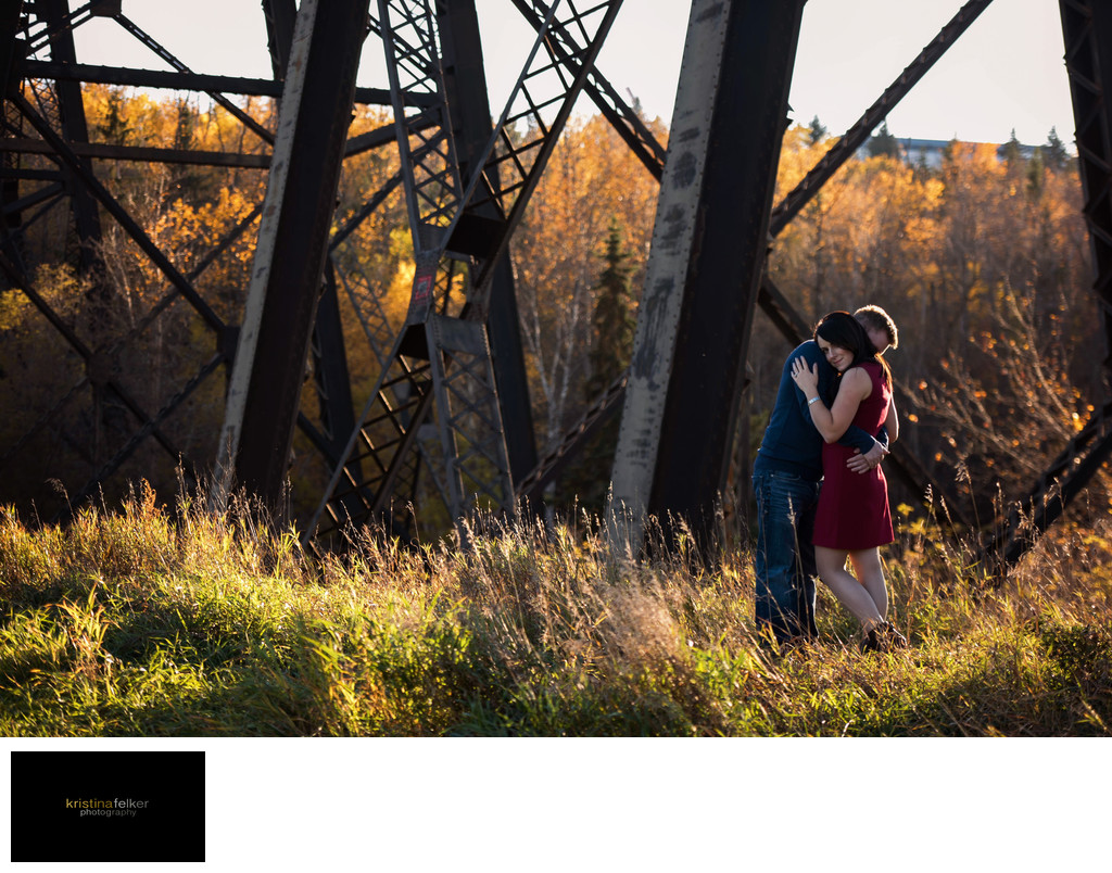 Edmonton Fall Engagement Pictures