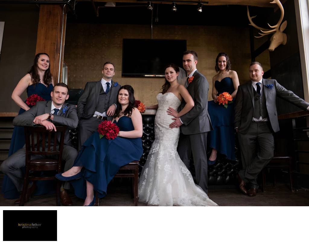 Wedding at Mercer Tavern Edmonton