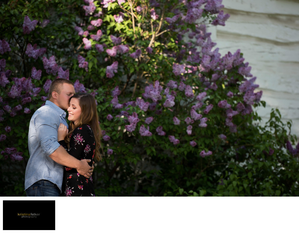 Spring Engagement Pictures in Edmonton