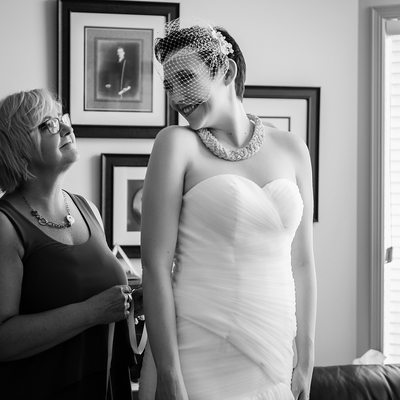 Black and White Wedding Photography Edmonton Alberta