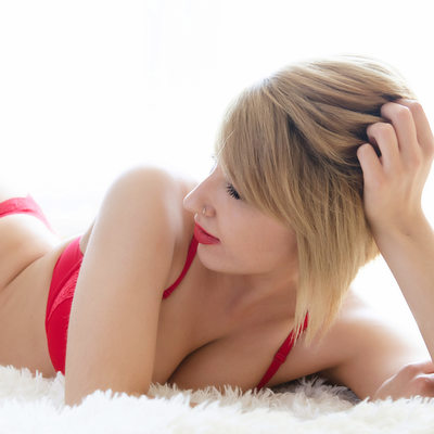 Backlight Boudoir Photography