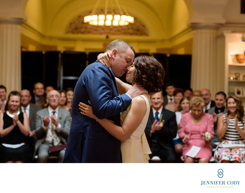 Hotel Monaco wedding ceremony Washington DC