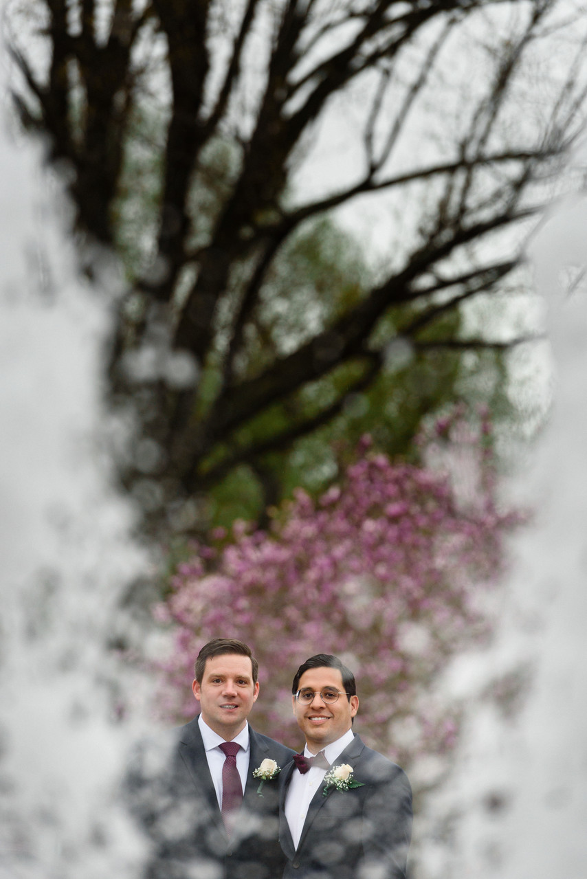 same sex dc elopement and wedding photographer