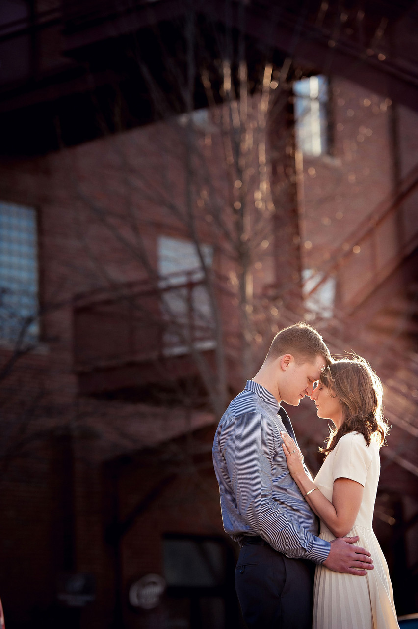 Carrie + Tom | Villa Park Engagement