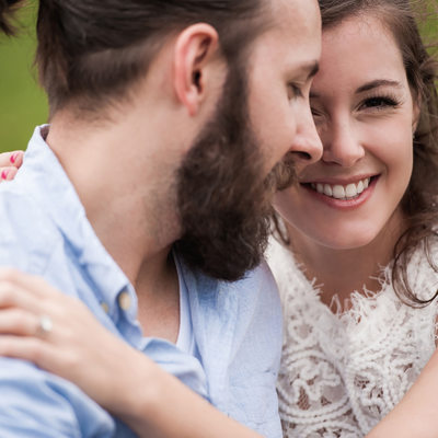 Katelyn + Blake | Engagement | Ned Brown Forest Preserve