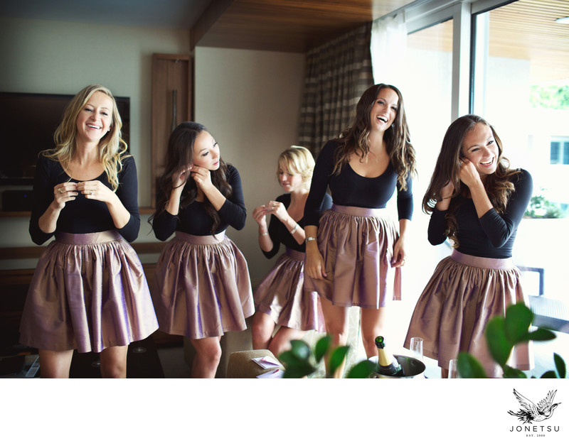 Wedding party bridesmaids party skirts