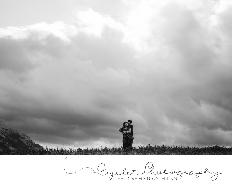 Landscape Wedding Photography Crowsnest Pass Mountains