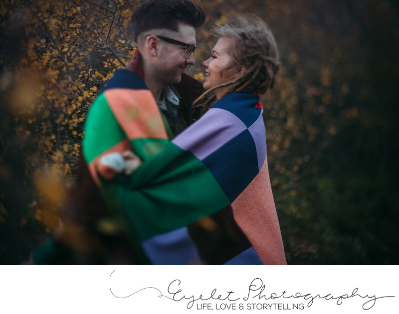 Engagement Photos Freelensed Eyelet Photography