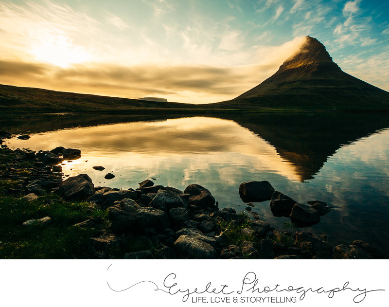 Kirkjufell at Sunset Photography