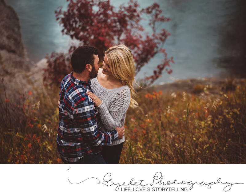 Sparwood Wedding Photographer Engagement In Fall