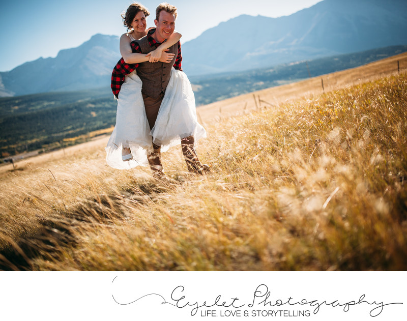 Crowsnest Pass Wedding Photography