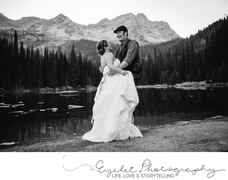 Top Wedding Photos Island Lake Lodge Fernie