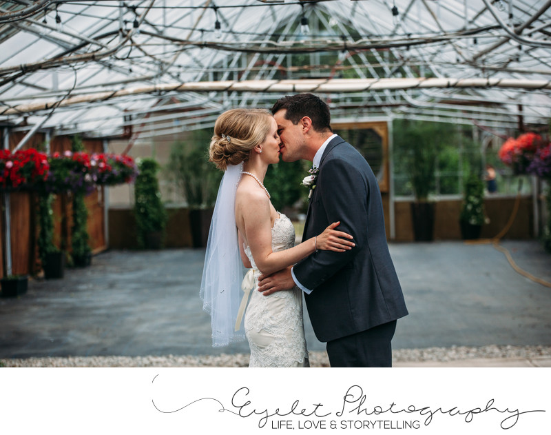 Spring Break Flower Farm Wedding Photos First Look