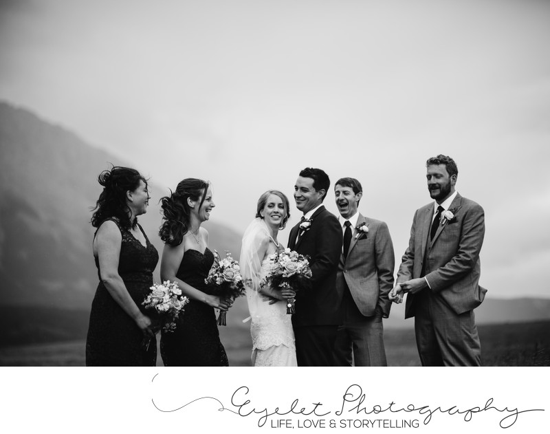 Wedding Party Photography Crowsnest Pass