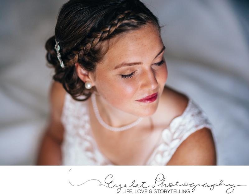 Bridal Portrait Wedding Photo Crowsnest Pass AB