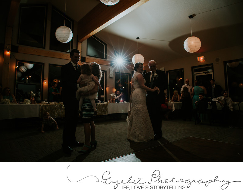 Wedding Photographer At The Fernie Golf And Country Club