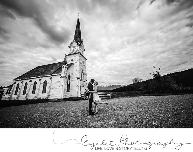 Saint Eugene Mission Church Wedding Photography