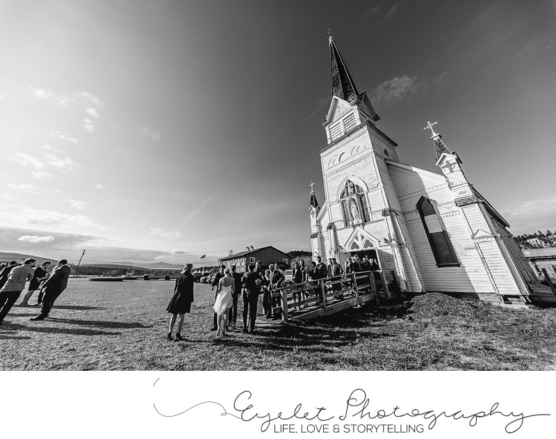 Saint Eugene Weddings at Mission Church Cranbrook
