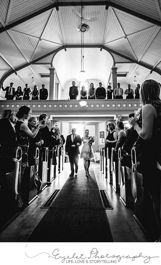 Saint Eugene Mission Church Wedding Ceremony Photos