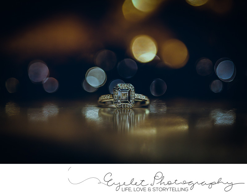Macro Wedding Ring Photography Sparwood Photographer