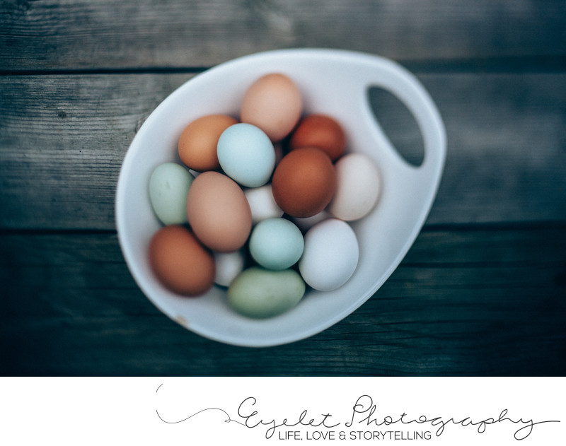 Fresh Farm Eggs Kitchen Food Photography Fine Art