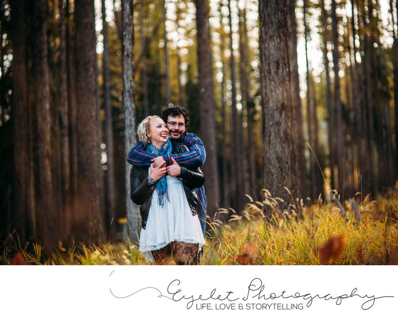 Engagement & Wedding Photography Fall in the Rockies