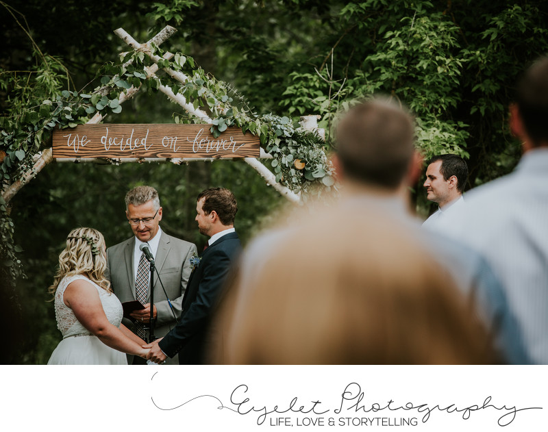 Ceremony Vows Fernie BC Wedding Photographer