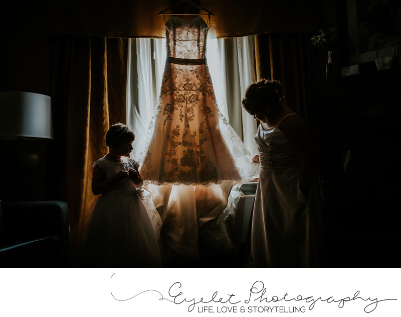 Bernie BC Best Western Wedding Dress Photography