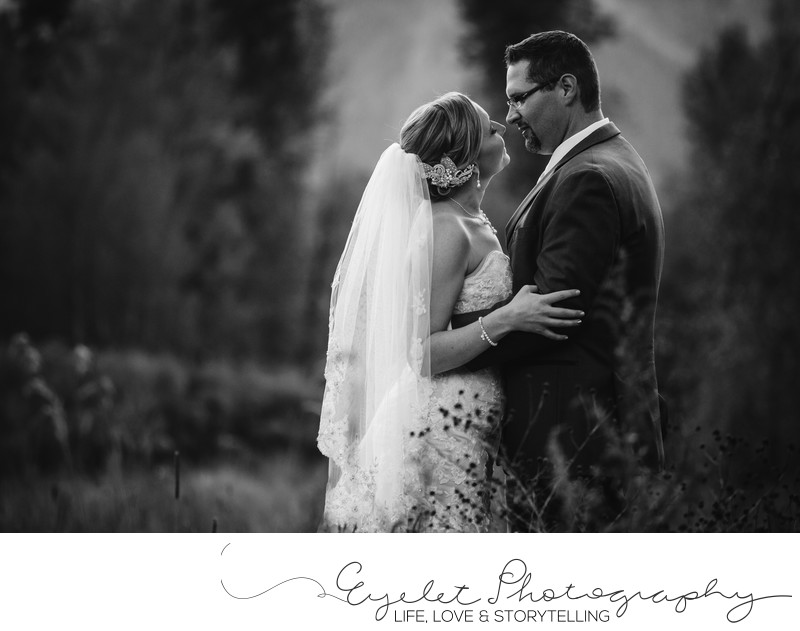 Bride and Groom Wedding Photography Fernie BC