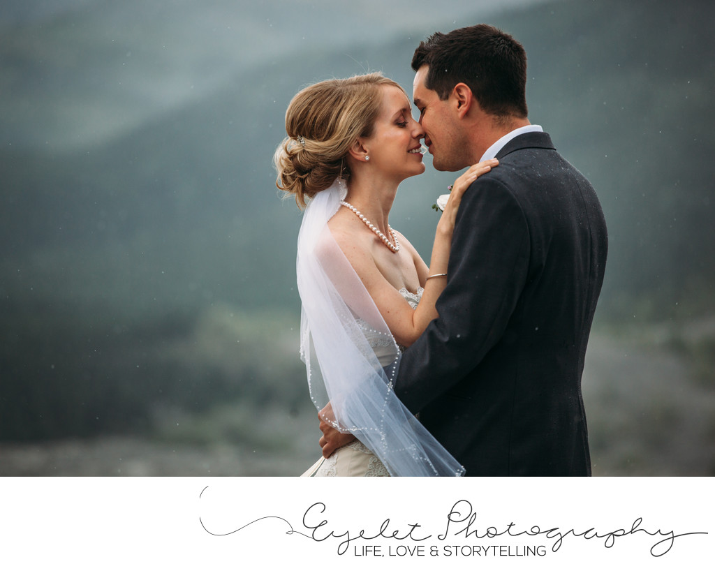 Wedding Photography Crowsnest Pass AB Frank Slide