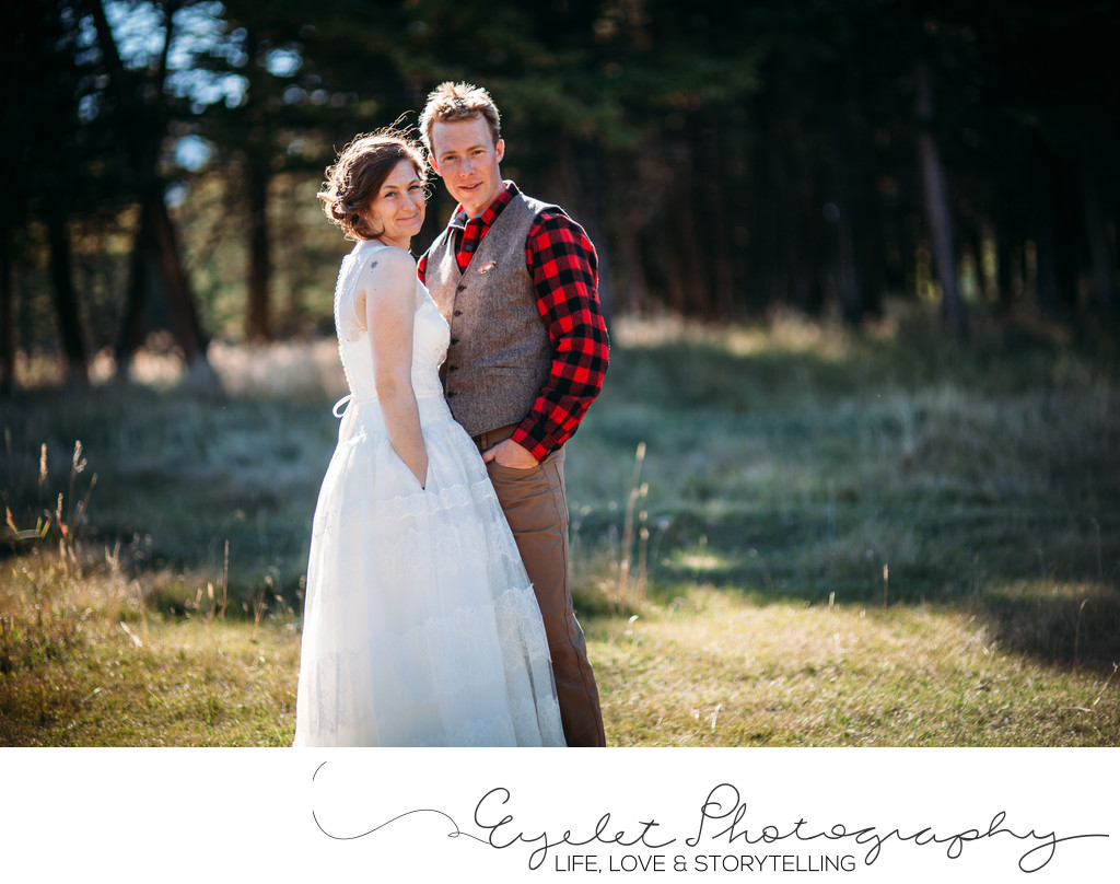 Wedding Photographer Crowsnest Pass Portraits