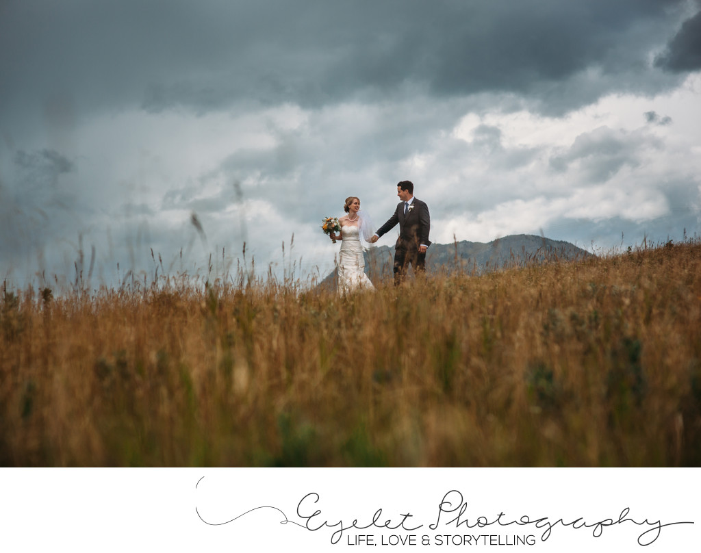 Crowsnest Pass Wedding Photographer Portraits Mountains