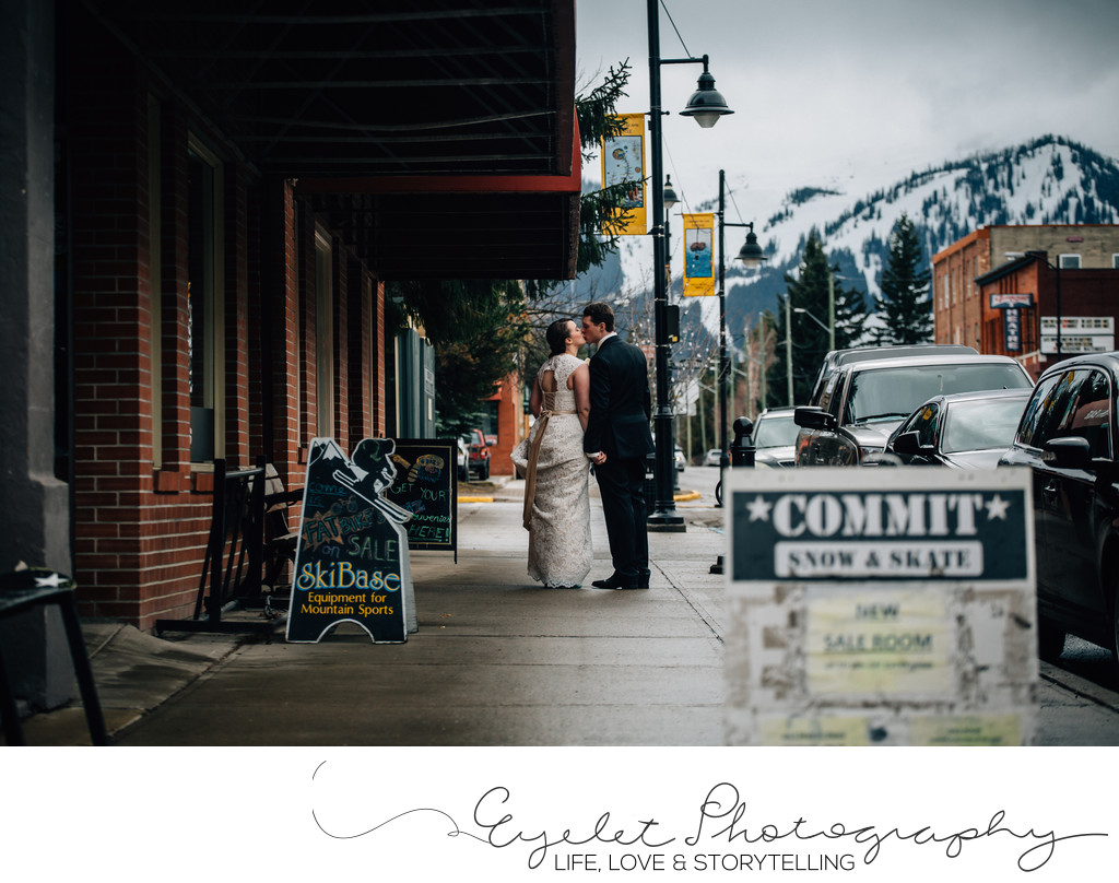 Fernie Photography Weddings Main Street Ski Base