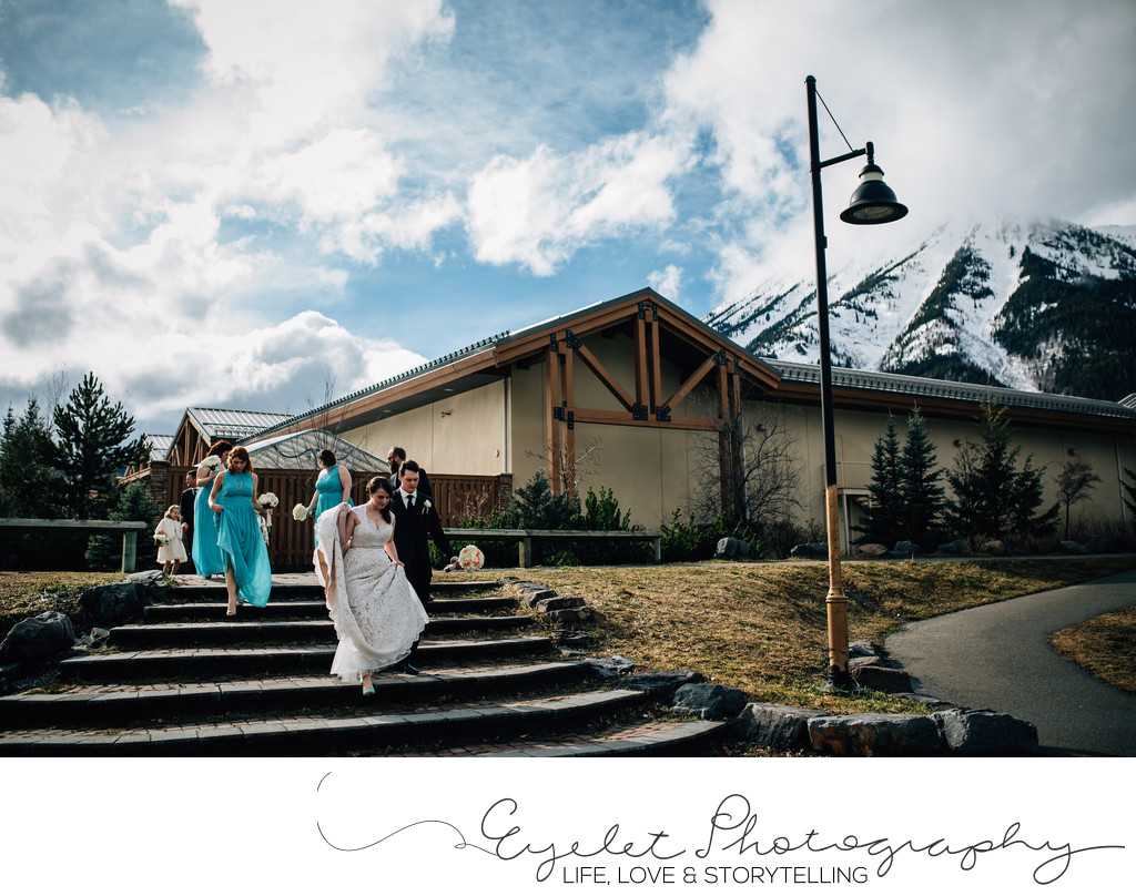 Weddings in Fernie During Spring