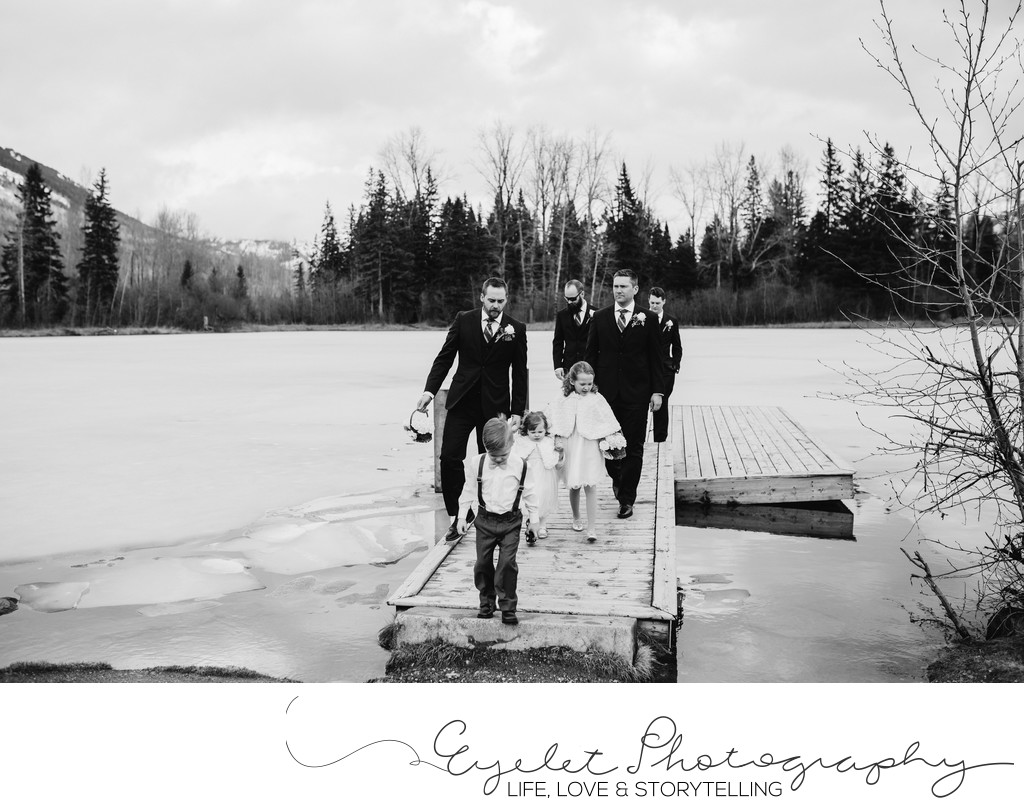 Fernie Wedding Photography at Maiden Lake