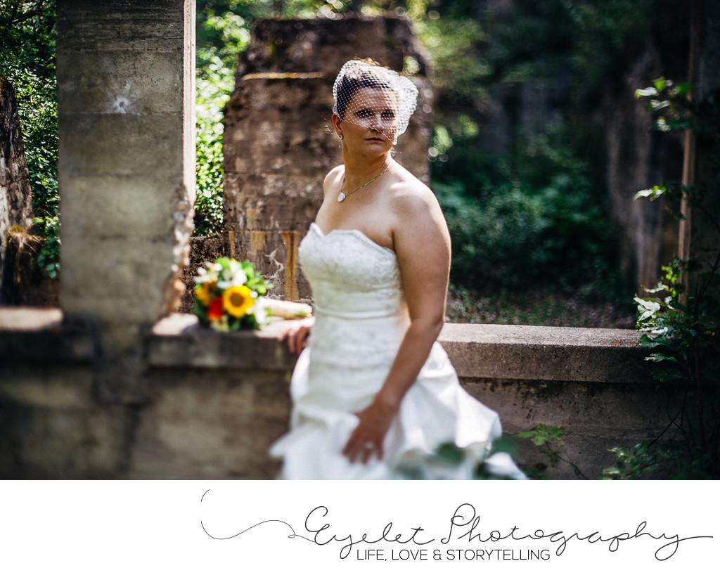 Bridal Portrait Fernie BC Wedding Photographer