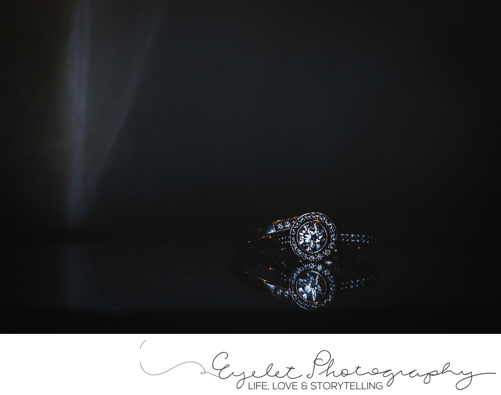Wedding Ring Detail Photography Destination Photos