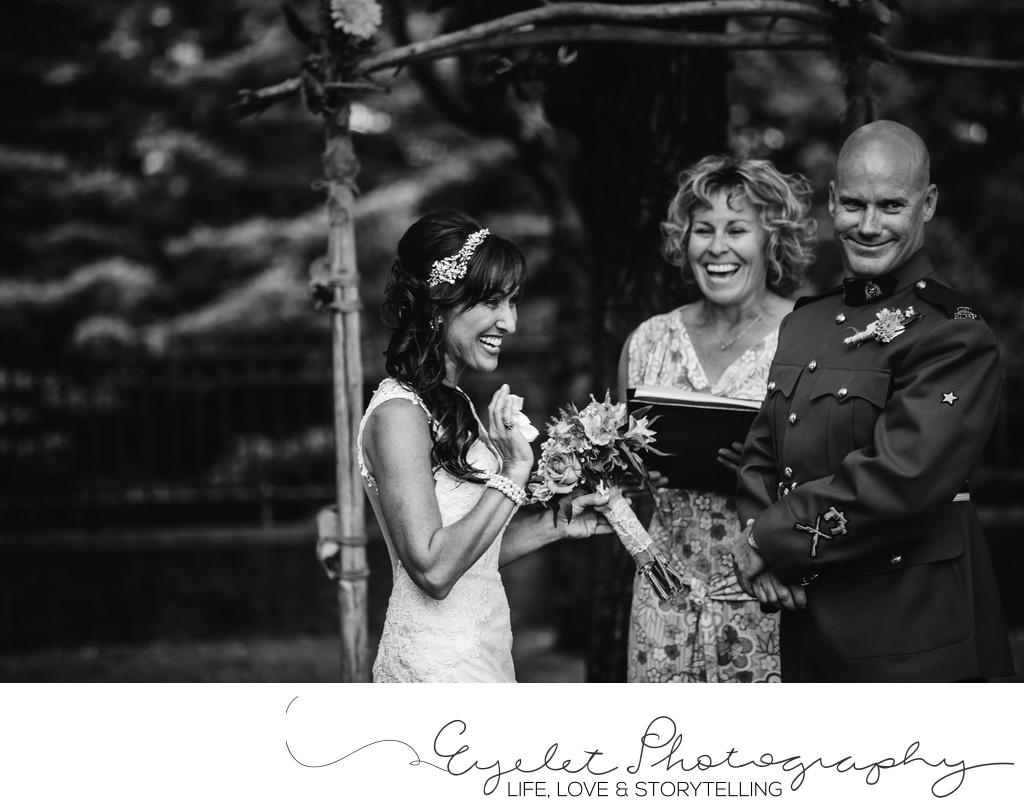 City of Fernie BC Town Hall Weddings
