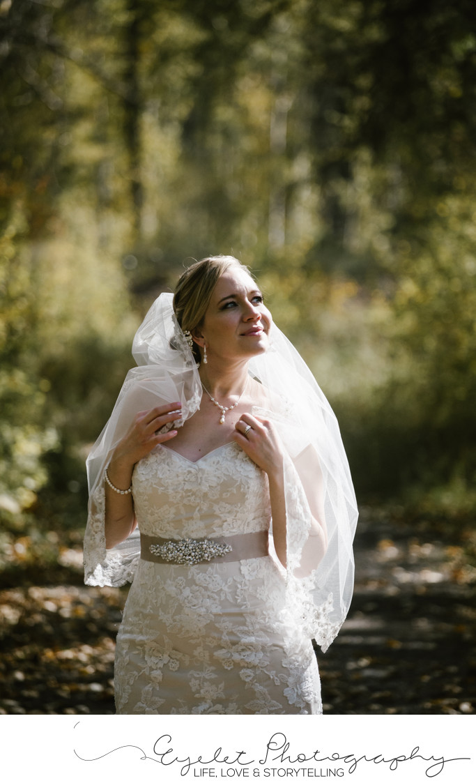 Fernie BC Weddings Bridal Portrait