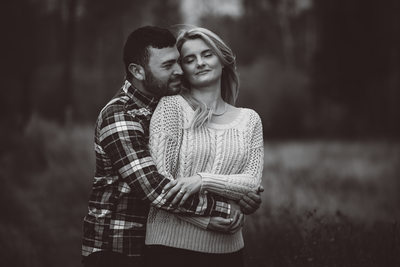 Engagement Session Photographs Elk River Sparwood, BC