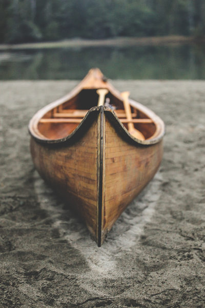 Handmade Cedar Canoe Photography on Vancouver Island