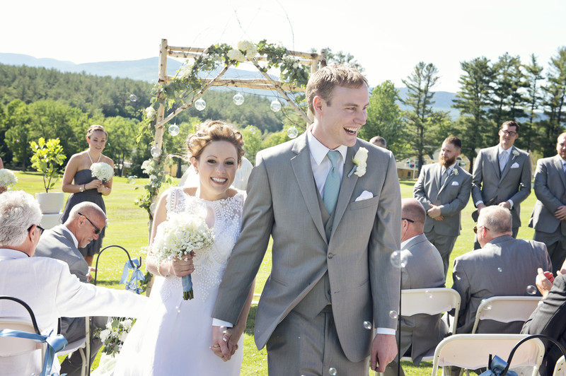GENUINE SMILES AFTER SAYING I DO AT THE BETHEL INN