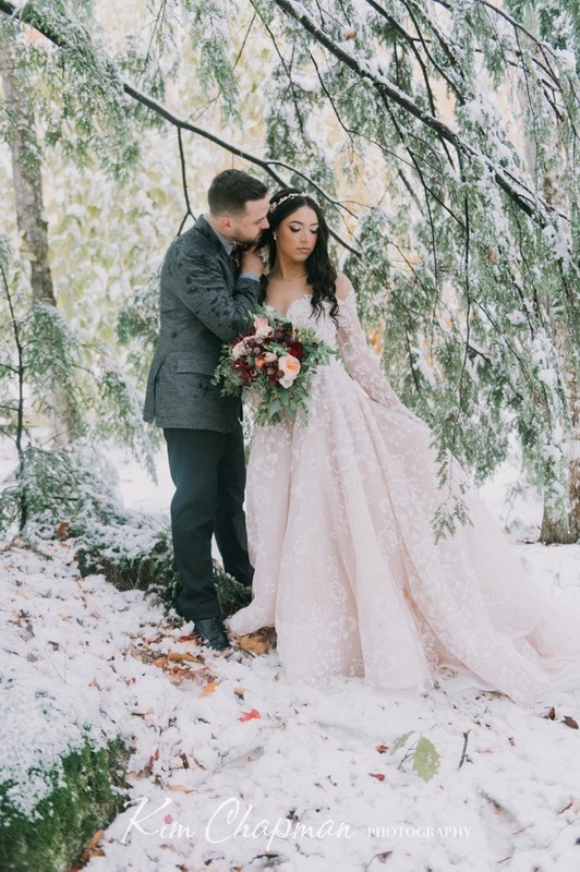 Maine Winter Wedding Photography