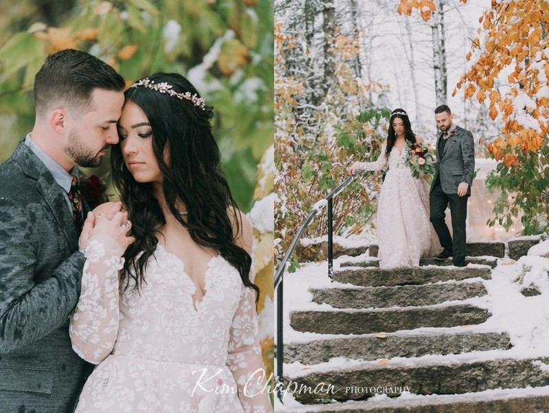 Maine Weddings - Winter and Snow
